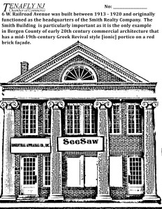 Tenafly's Apothacary Bldg (See Saw Boutique)