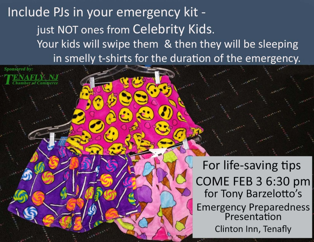 Tenafly Life Saving Tips Presentation