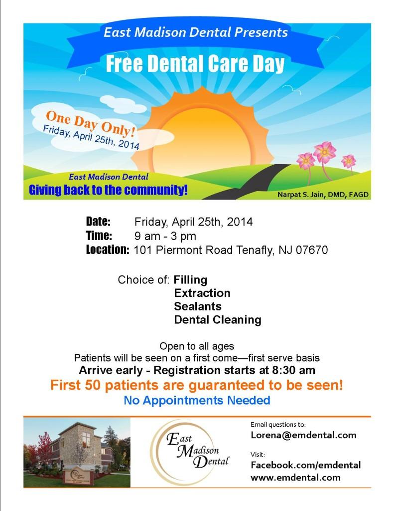 East Madison Dental Free Dental Care Day