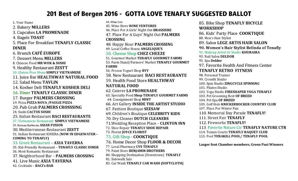 201 Best Of Bergen 2016 Suggested Ballot