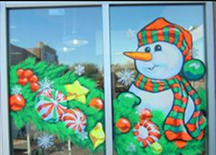 Sample Theme Window Painting Picture