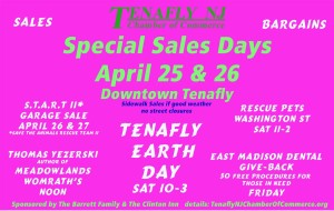 April 25 & 26 Special Sales