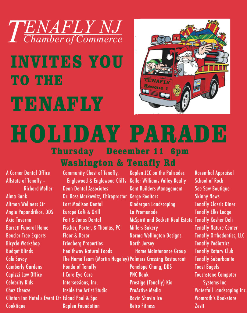 Tenafly Holiday Parade